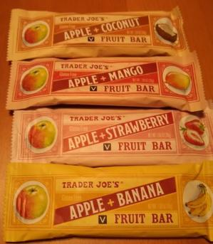 Trader Joe's Gluten Free Apple Fruit Bar