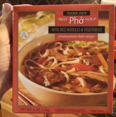 Trader Joe's Beef Pho Soup 1