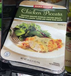 Trader Joe's Chicken Piccata
