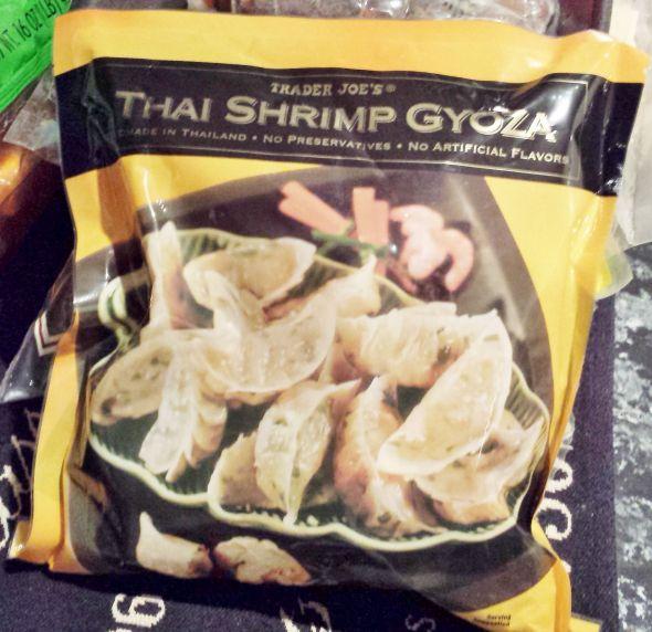Trader joe 39 s thai shrimp gyoza for Trader joe s fish