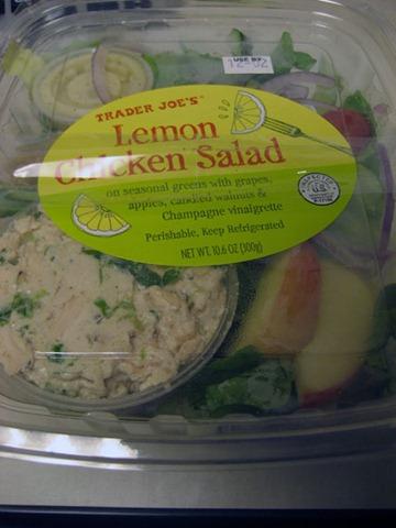 Trader Joe's Lemon Chicken Salad