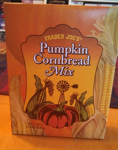 Trader Joe's Pumpkin Cornbread Mix