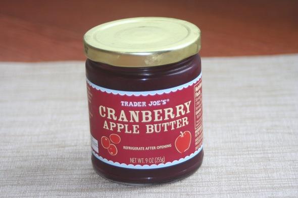 Trader Joe's Cranbery Apple Butter