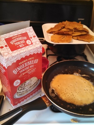 Trader Joe's Gingerbread Pancake Mix 2