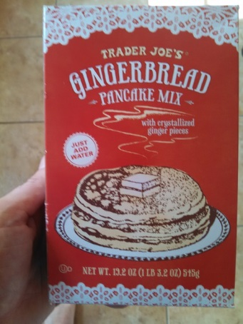 Trader Joe's Gingerbread Pancake Mix