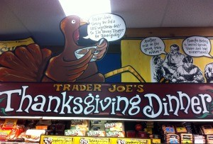 Trader Joe's Thanksgiving Greeting