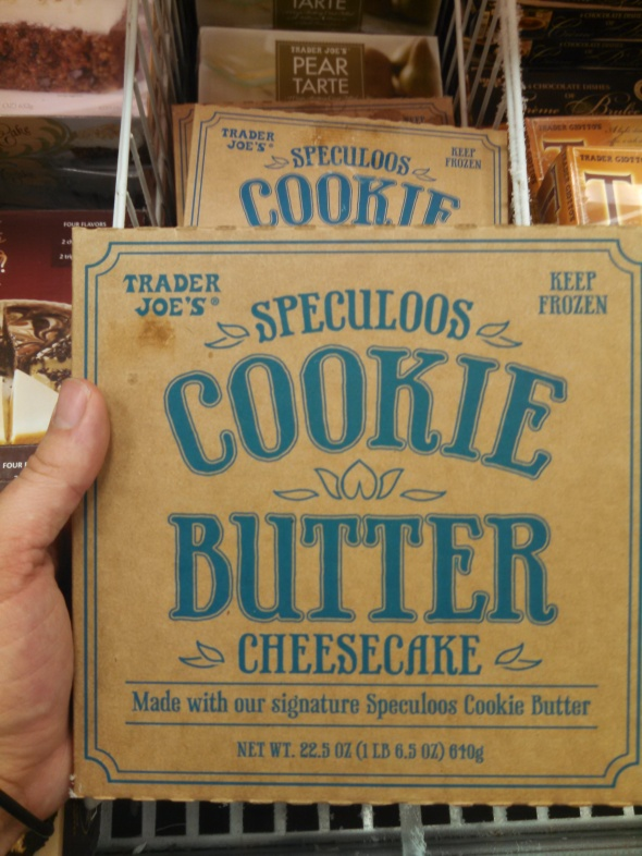 cookie butter cheesecake box