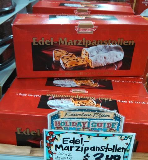 KichenMeister Edel-Marzipanstollen