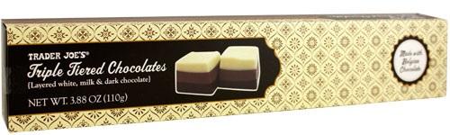 Trader Joe's Triple Tiered Chocolates