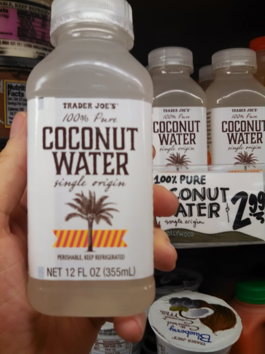Trader Joe's - 100% Pure Coconut Water Single Origin