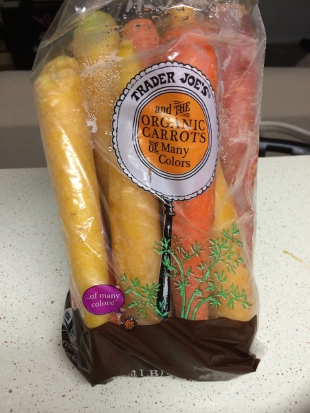 Trader Joe's and the Organic Carrots of Many Colors