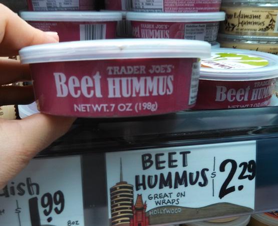 Trader Joe's Beet Hummus 2