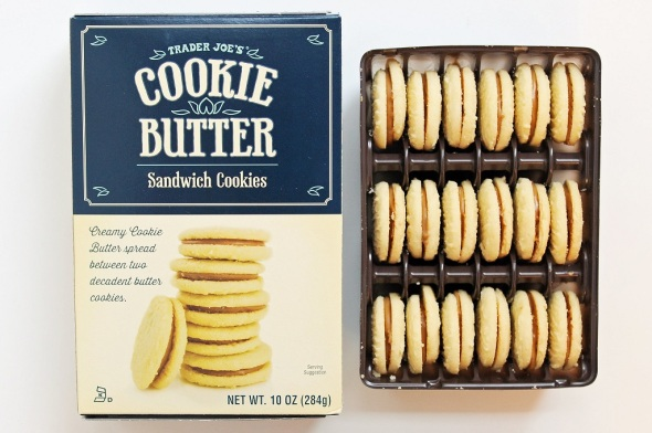 Trader Joe's Cookie Butter Sandwich Cookies 1