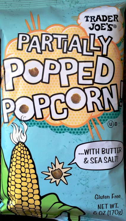 Trader Joe's Partially Popped Popcorn