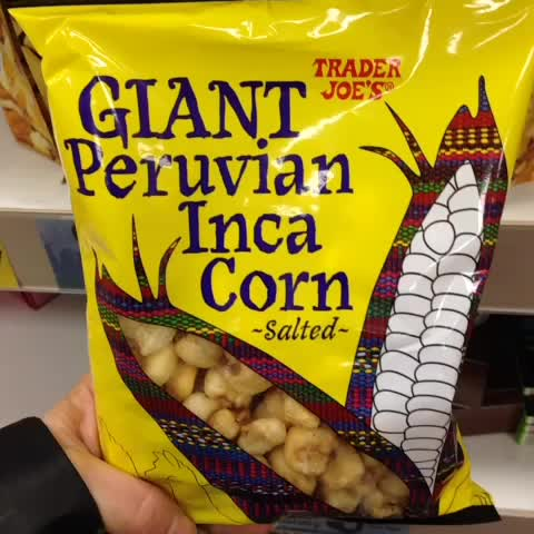 Trader Joe's Giant Peruvian Inca Corn