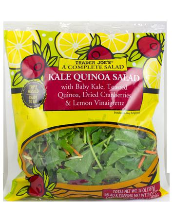 Trader Joe's Kale Quinoa Salad