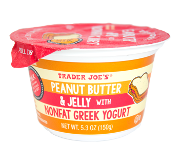 Trader Joe's Peanut Butter & Jelly with Nonfat Greek Yogurt