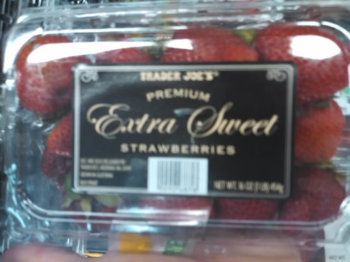 Trader Joe's Premium Extra Sweet Strawberries