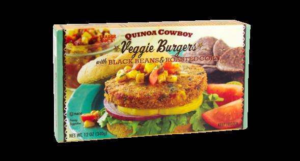 Trader Joe's Quinoa Cowboy Burger