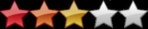 3 star ranking