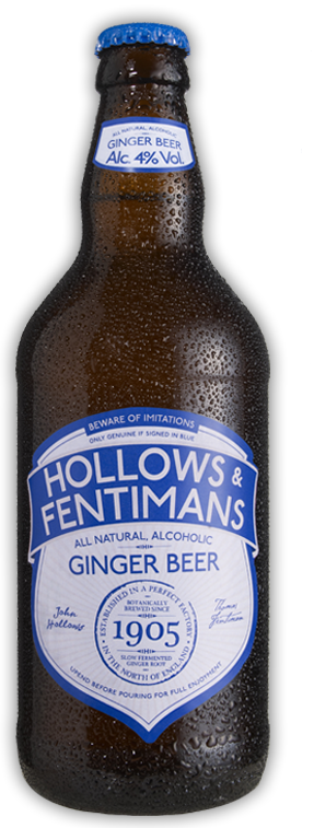 Hollow and Fentimans Alcoholic Ginger Beer