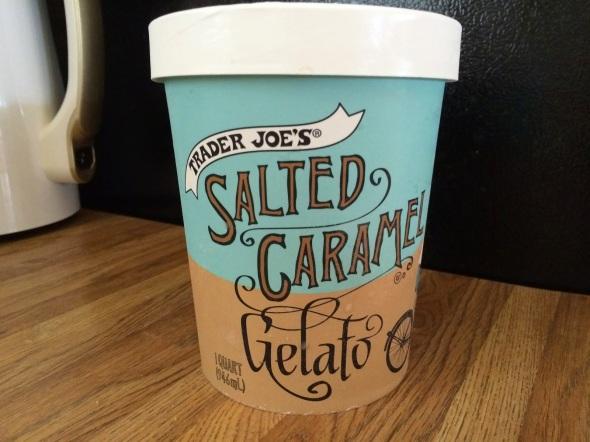 Trader Joe's Salted Caramel Gelato