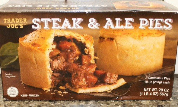 Trader Joe's Steak and Ale Pie