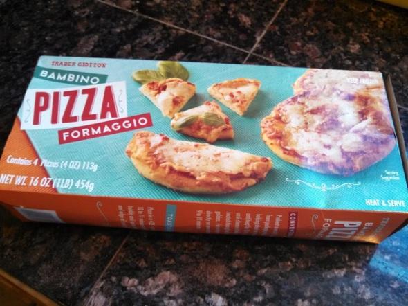 Trader Joe's Bambino Pizza Formaggio 2