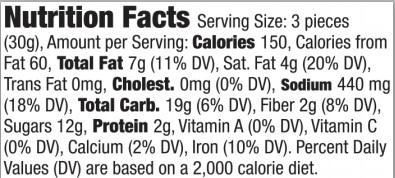 Trader Joe's Dark Chocolate covered Honey Grahams with Sea Salt - Nutrition Facts
