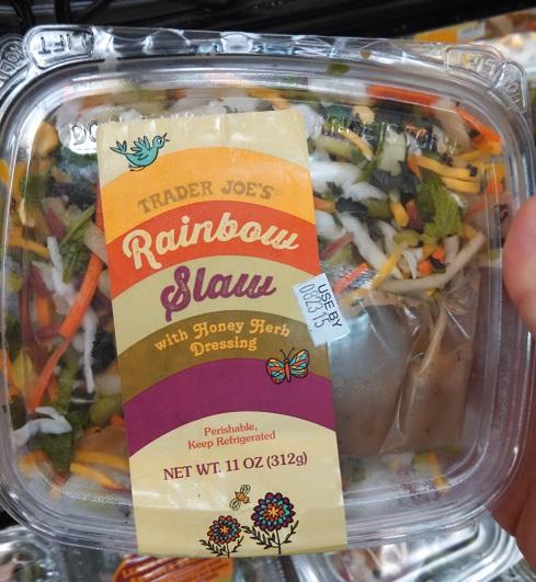 Trader Joe's Rainbow Slaw