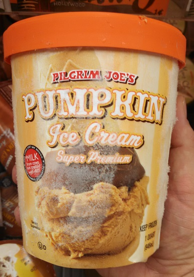 Pilgrim Joe's Pumpkin Ice Cream