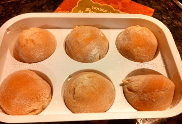 Trader Joe's Pumpkin Pie Mochi Ice Cream 2
