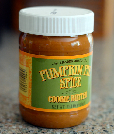 Trader Joe's Pumpkin Spice Cookie Butter