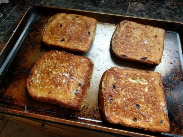 Trader Joe's Panettone French Toast 2