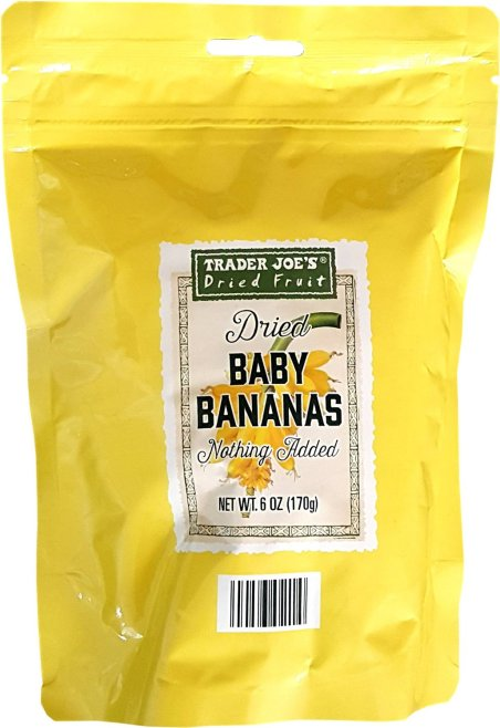 Trader Joe's Dried Baby Bananas