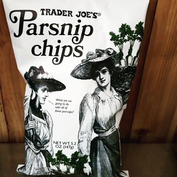 Trader Joe's Parnsip Chips